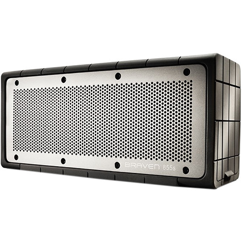 Braven 855s Bluetooth Wireless Speaker (Black / Gray)