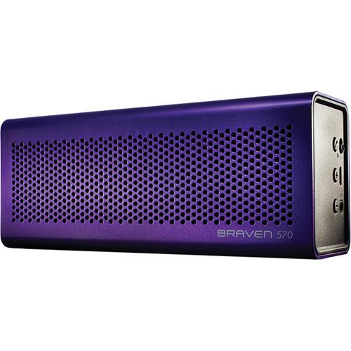 Braven 570 Bluetooth Wireless Speaker (Purple)