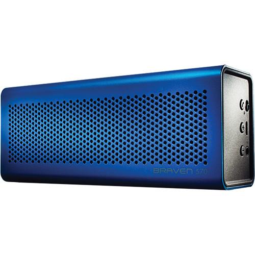 Braven 570 Bluetooth Wireless Speaker (Blue)