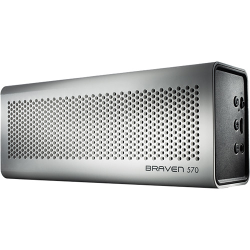 Braven 570 Bluetooth Wireless Speaker (White)
