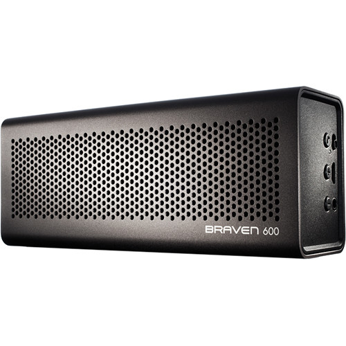 Braven 600 Bluetooth Wireless Speaker (Gray)