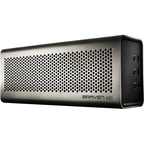 Braven 650 Bluetooth Wireless Speaker (Silver)