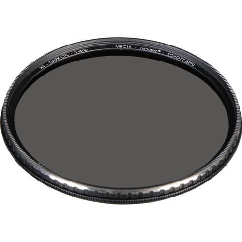 Breakthrough Photography 72mm X4 Dark 3-Stop Titanium Circular Polarizer Filter