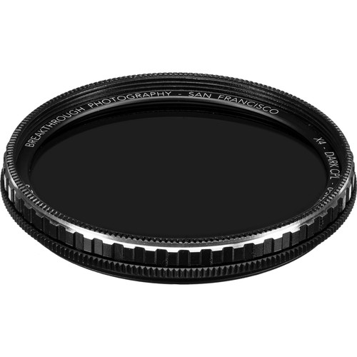 Breakthrough Photography 49mm X4 Dark 6-Stop Titanium Circular Polarizer Filter