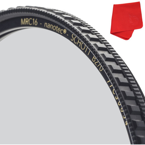 Breakthrough Photography 77mm X4 Dark 6-Stop Titanium Circular Polarizer Filter