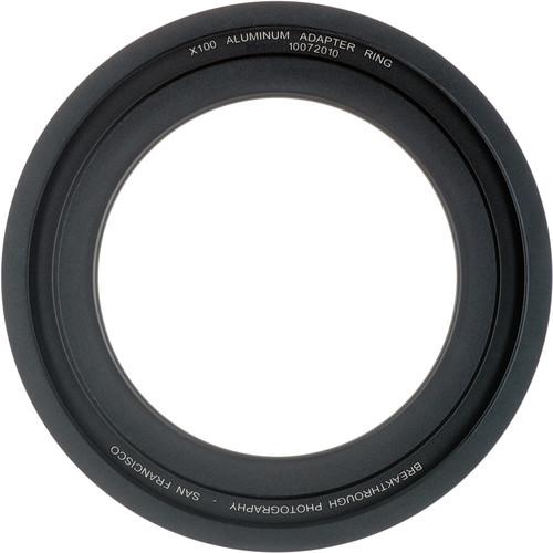 Breakthrough Photography 58mm Aluminum Adapter Ring for X100 Filter Holder