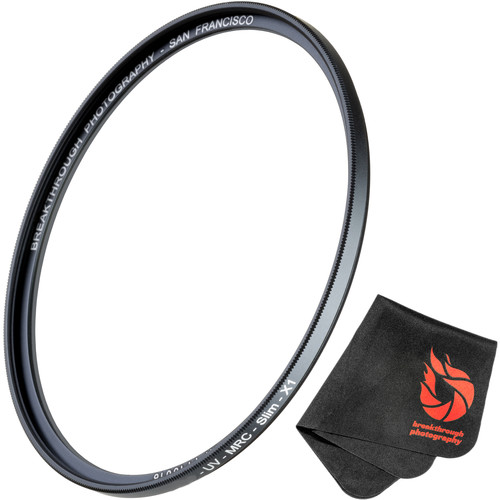 Breakthrough Photography 62mm X1 UV Filter