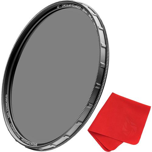 Breakthrough Photography 82mm X2 Circular Polarizer Filter