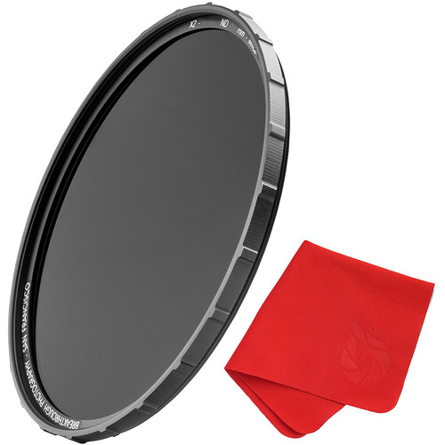 Breakthrough Photography 62mm X2 Solid Neutral Density 1.8 Filter (6-Stop)