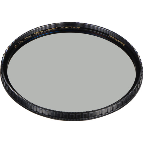 Breakthrough Photography 77mm X4 Brass Circular Polarizer Filter