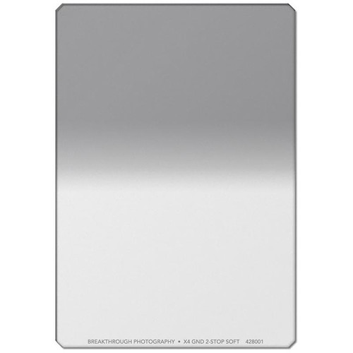 Breakthrough Photography 150 x 170mm X4 Reverse Hard Edge Graduated 0.9 Neutral Density Filter