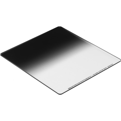 Breakthrough Photography 150 x 170mm X4 Soft Edge Graduated 0.9 Neutral Density Filter