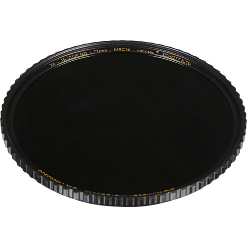 Breakthrough Photography 77mm X4 Solid Neutral Density 4.5 Filter (15 Stop)
