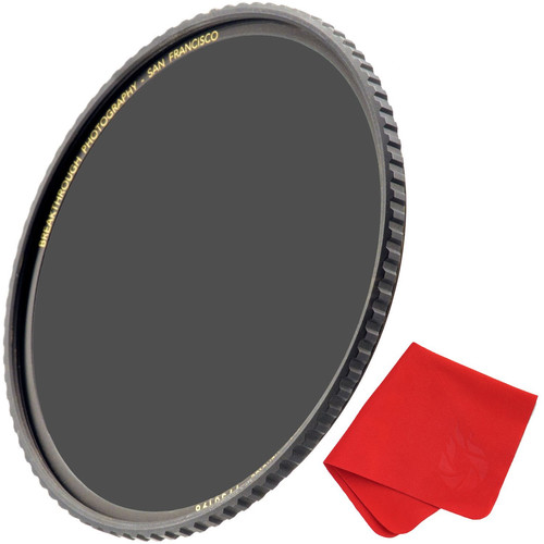 Breakthrough Photography 62mm X4 Solid Neutral Density 1.8 Filter (6 Stop)