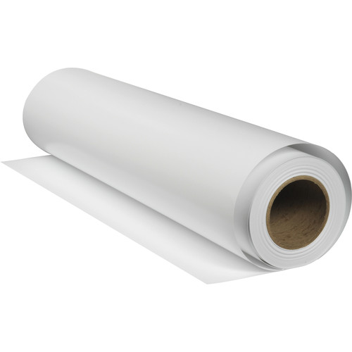 """Breathing Color Chromata White Canvas (64"""" x 40' Roll)"""