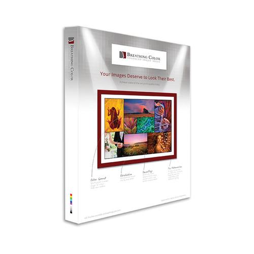 """Breathing Color 800M Aqueous Matte Canvas (17 x 22"""", 25 Sheets)"""