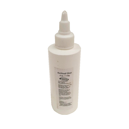 Breathing Color Archival Glue for EasyWrappe (4 oz Bottle)