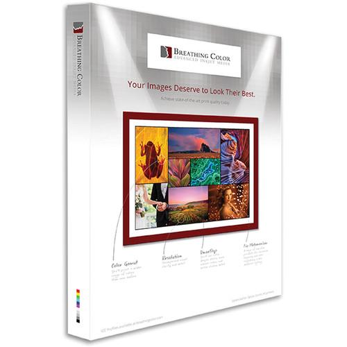 """Breathing Color Pura Velvet Matte Fine Art Paper (25 Sheets, 17 x 22"""")"""