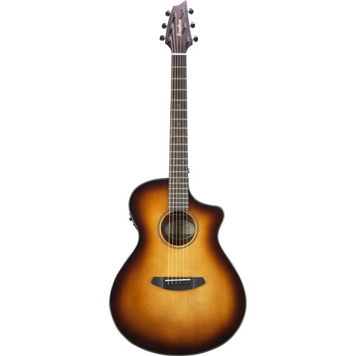 Breedlove Discovery Concert CE Acoustic/Electric Guitar (Gloss Sunburst)