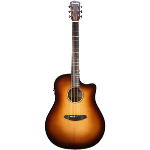 Breedlove Discovery Dreadnought Sunburst CE Acoustic/Electric Guitar (Sitka/Mahogany)