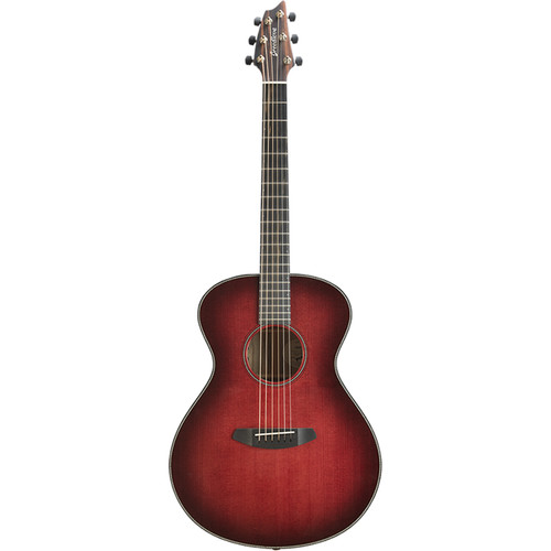 Breedlove Oregon Concert Manzanita Limited Edition Acoustic/Electric Guitar (Gloss Red Burst)