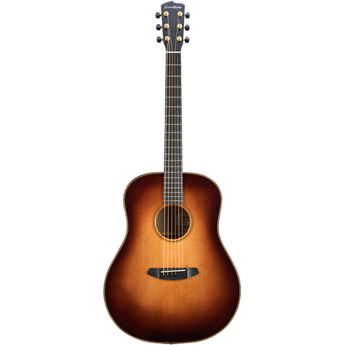 Breedlove Oregon Dreadnought Acoustic/Electric Guitar (Whiskey Burst)
