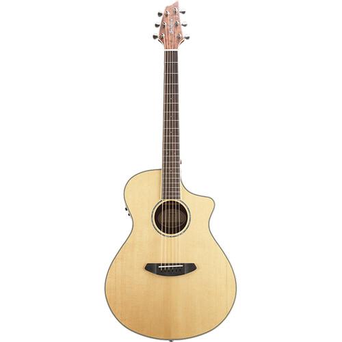 Breedlove Pursuit Exotic Concert CE Acoustic/Electric Guitar (Sitka Spruce, Bubinga, Natural Gloss)