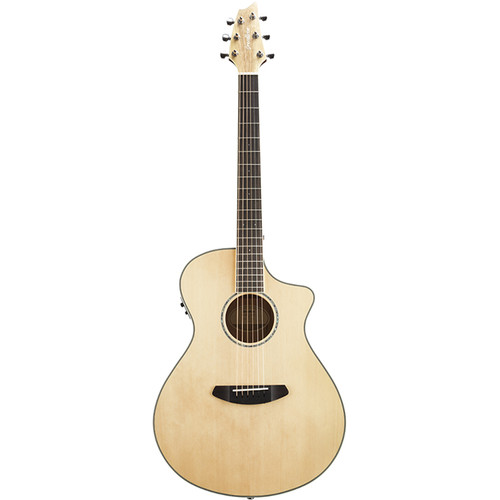 Breedlove Pursuit Exotic Concert CE Acoustic/Electric Guitar (Sitka Spruce, Myrtlewood, Natural Gloss)
