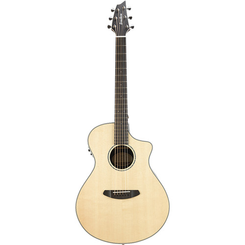 Breedlove Pursuit Exotic Concert CE Acoustic/Electric Guitar (Sitka Spruce, Ziricote, Natural Gloss)