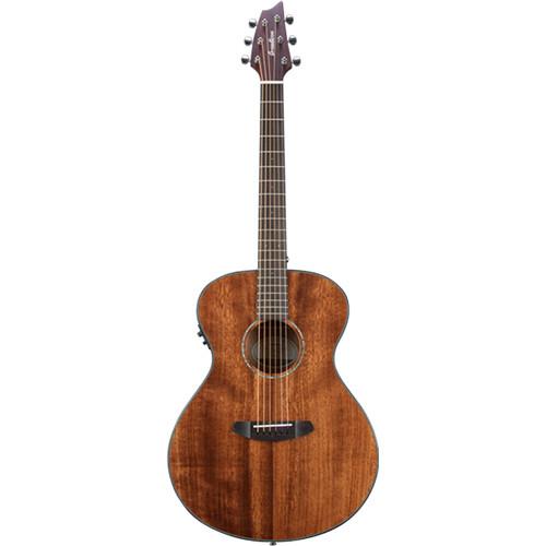 Breedlove Pursuit Concert E Acoustic/Electric Guitar (Mahogany, Natural Gloss)