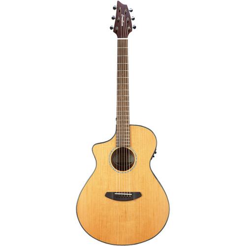 Breedlove Pursuit Concert CE Acoustic/Electric Guitar (Cedar/Mahogany, Left Handed, Natural Gloss)