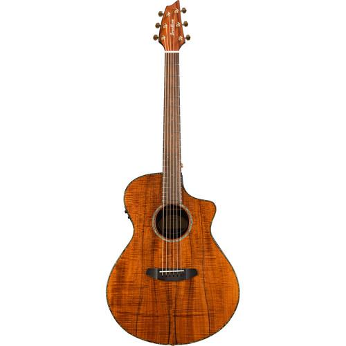 Breedlove Pursuit Concert Koa Acoustic/Electric Guitar (Limited Edition)