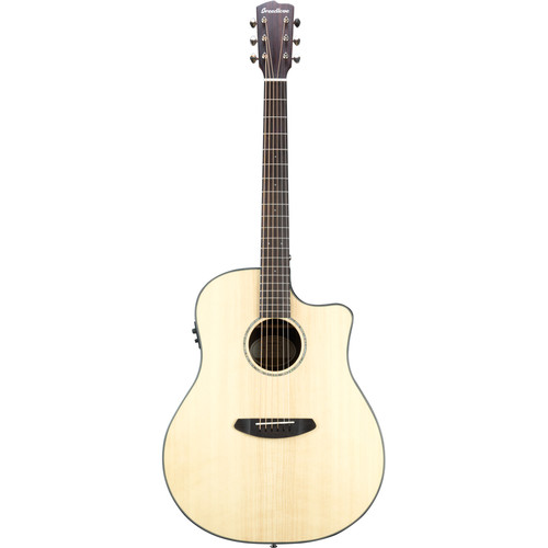 Breedlove Pursuit Dreadnought Ebony Acoustic/Electric Guitar (Gloss)