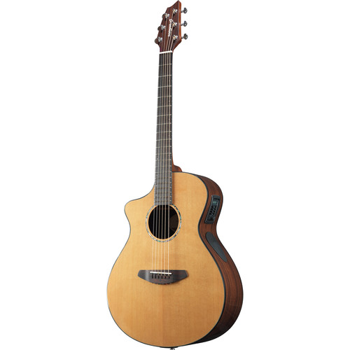 Breedlove 16' Solo Concert Acoustic/Electric Guitar (Left-Handed, Gloss)