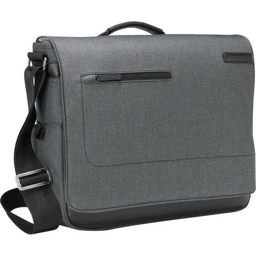 Brenthaven Collins Messenger Bag (Heather Gray)
