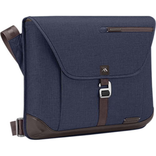 Brenthaven Collins Sleeve Plus Shoulder Bag (Indigo Chambray)