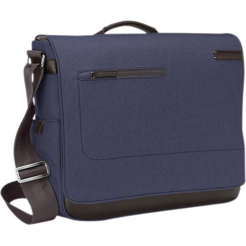 Brenthaven Collins Messenger Bag (Indigo Chambray)