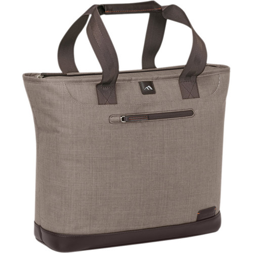 Brenthaven Collins Tote (Camel Chambray)