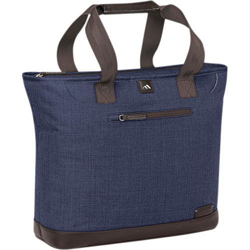 Brenthaven Collins Tote (Indigo Chambray)