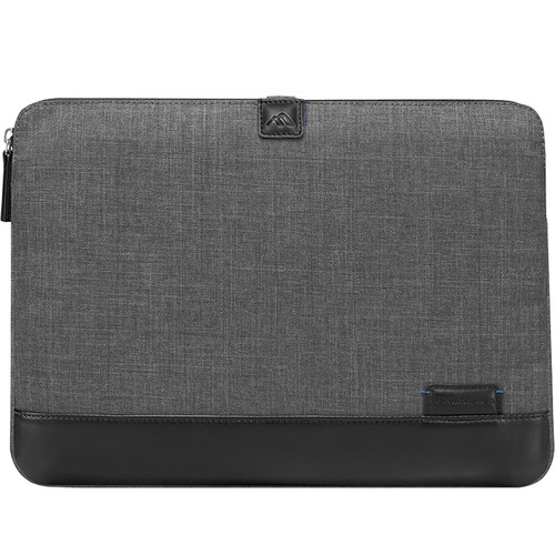 "Brenthaven Collins Sleeve I for 13"" Macbook (Charcoal)"