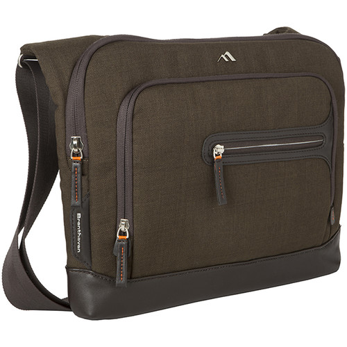 """Brenthaven Collins Limited Edition Courier 13"""" Laptop Bag (Forest)"""