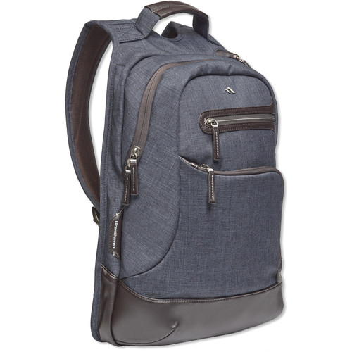 "Brenthaven Collins Backpack for 15"" Laptop (Indigo)"