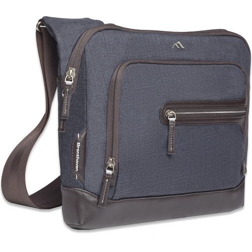 "Brenthaven Collins Courier 13"" Laptop Bag (Indigo)"