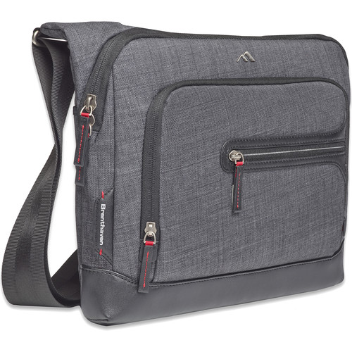 "Brenthaven Collins Courier 13"" Laptop Bag (Graphite)"
