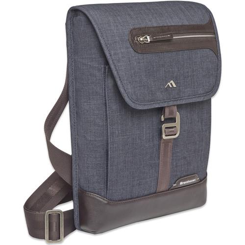 """Brenthaven Collins Vertical Messenger Bag for 13"""" Laptop (Indigo)"""