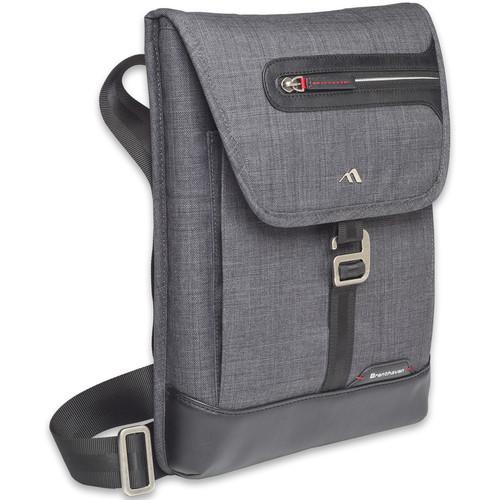 """Brenthaven Collins Vertical Messenger Bag for 13"""" Laptop (Graphite)"""