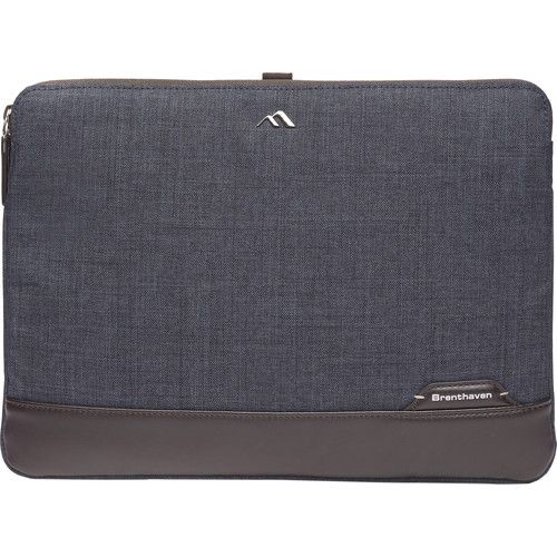 "Brenthaven Collins 13"" Sleeve (Indigo Chambray)"