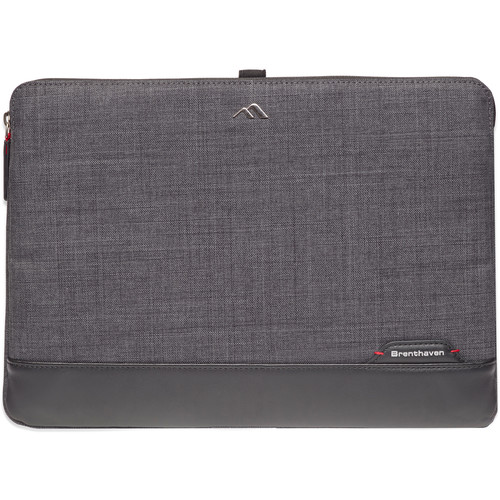 """Brenthaven Collins 12"""" Sleeve (Graphite Chambray)"""