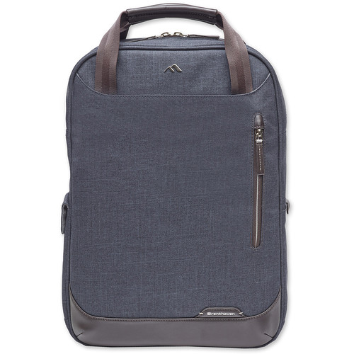 Brenthaven Collins Convertible Laptop Backpack (Indigo)
