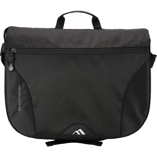 Brenthaven Pacific Messenger Bag for MacBook (Black)